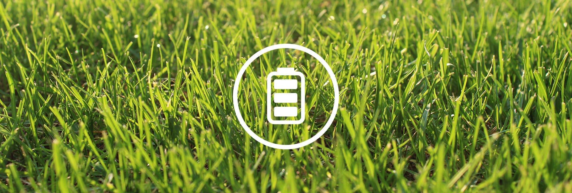 Bateriové travní sekačky
