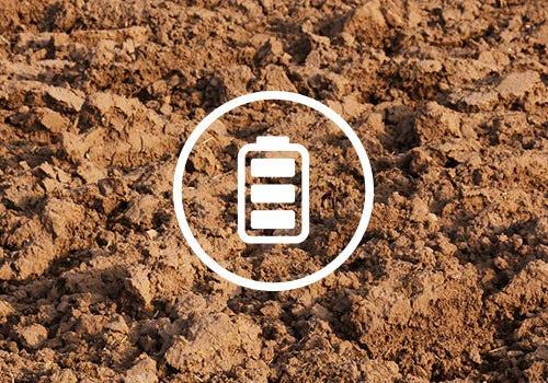 Batteridrevne jordfræsere