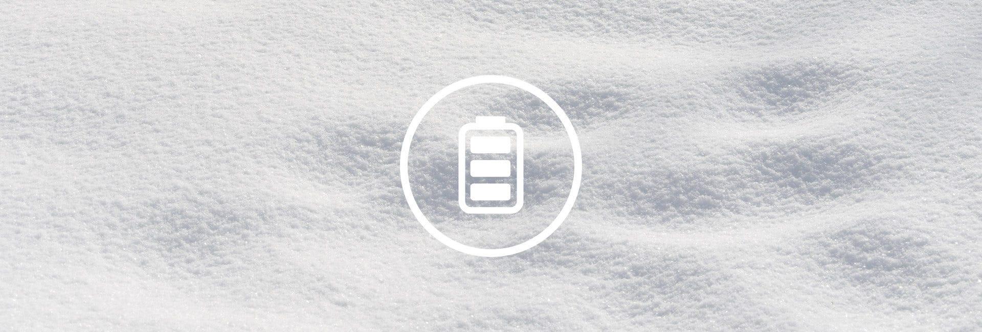 Akku-Schneefräsen