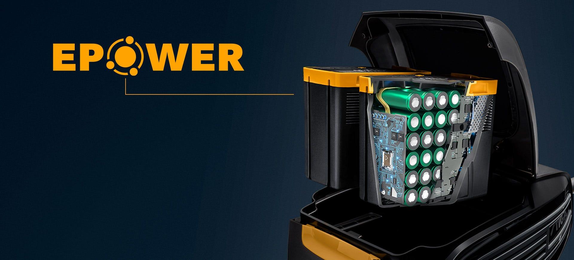 Uusi STIGA E-Power