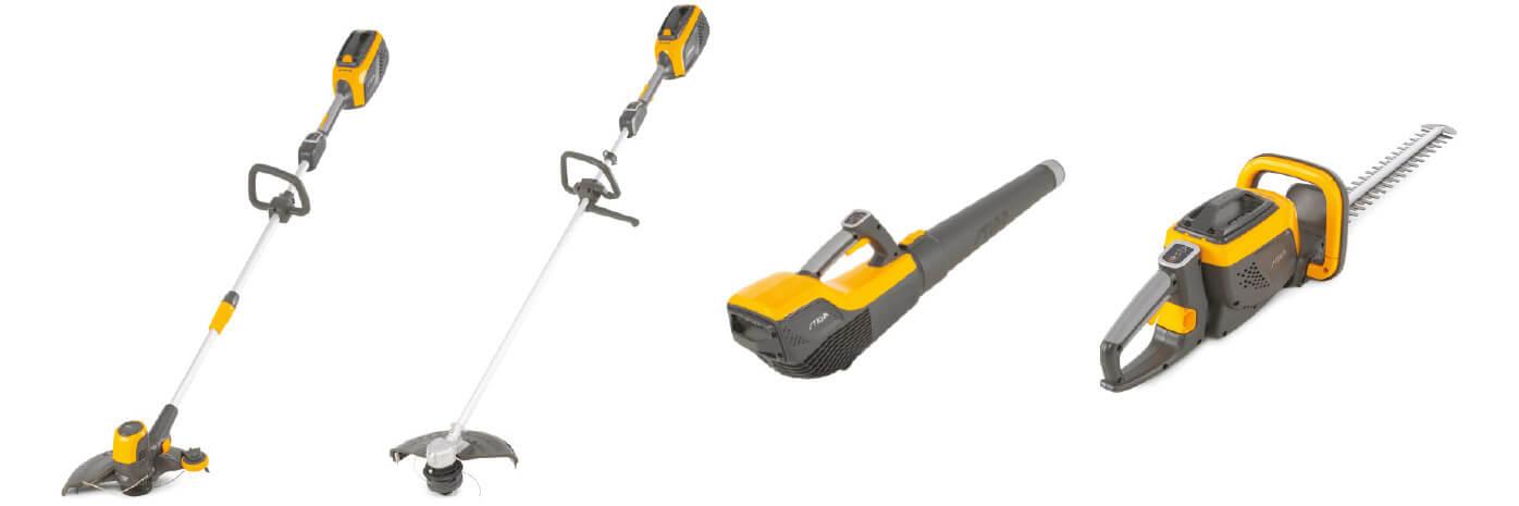 STIGA 500-serien håndholdte redskaber