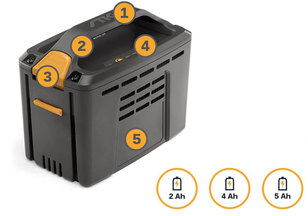 Ящик для хранения аккумуляторов STIGA