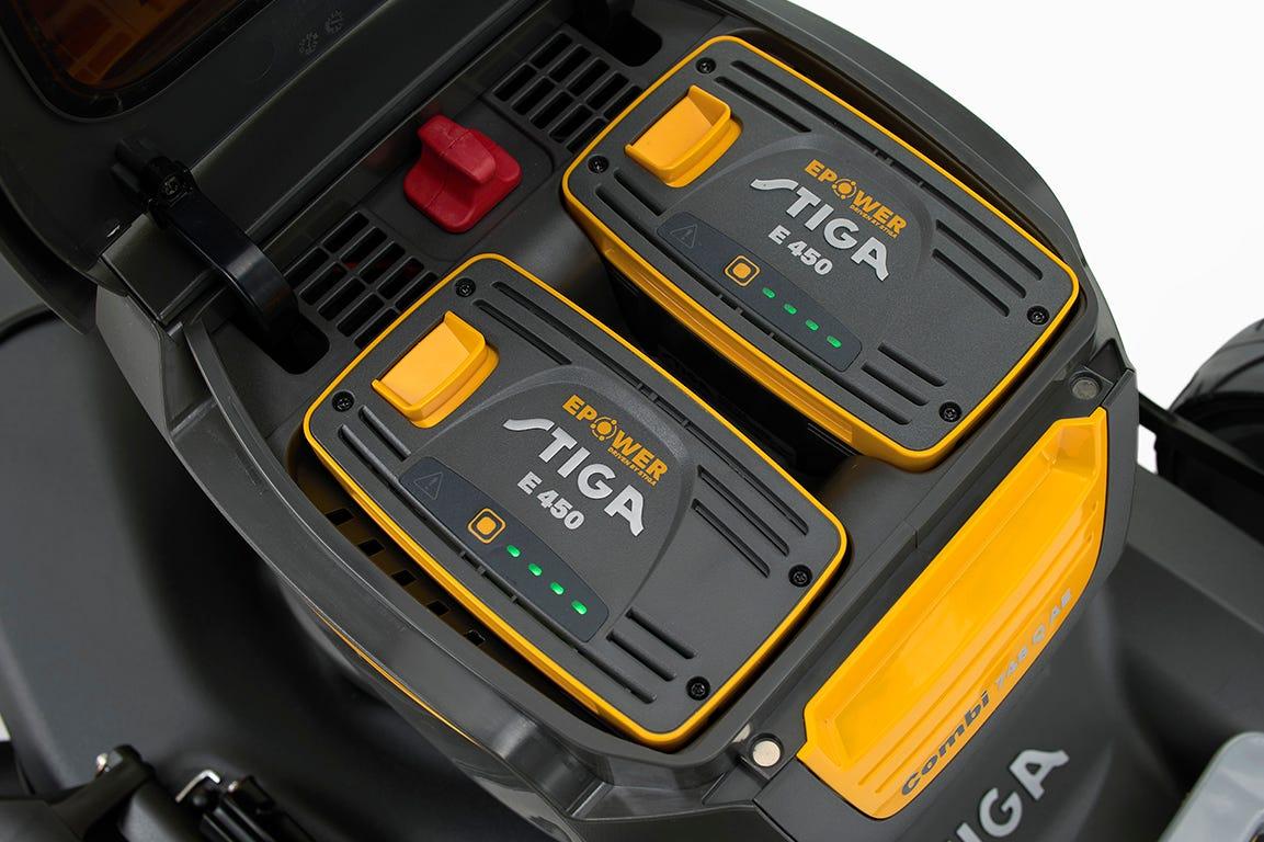 STIGA 700-serien intelligent batteristyring