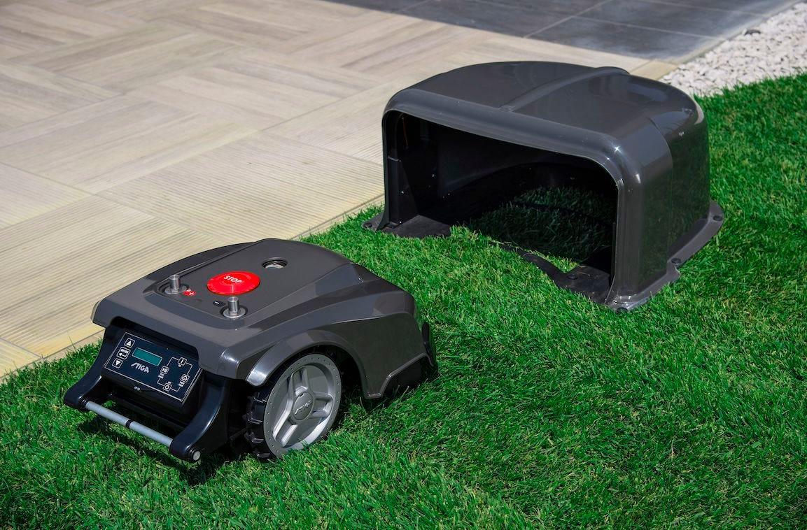 base pour robot tondeuse autoclip