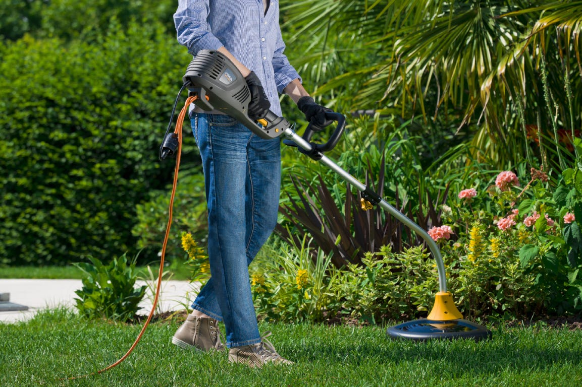 STIGA electric lawn trimmer with joint shaft SGT 1000 J