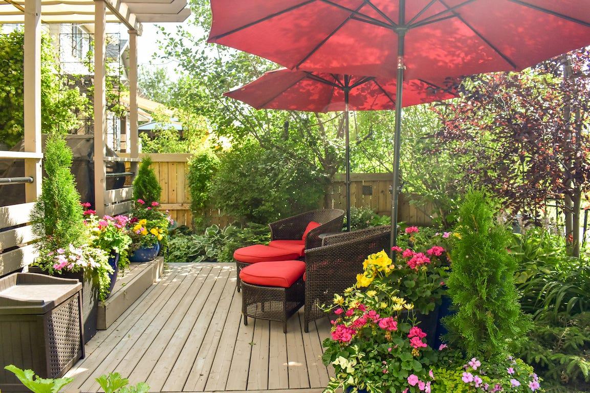 aménagement de jardin ambiance cabane cocoon