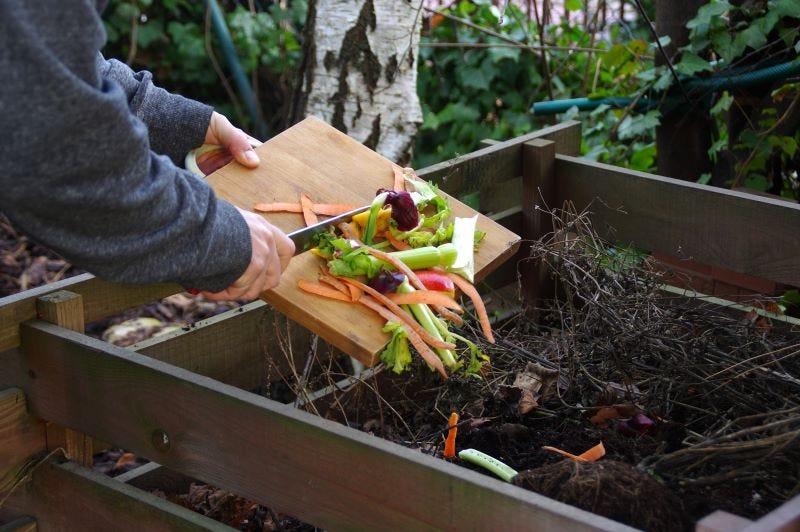 Compost dans son jardin