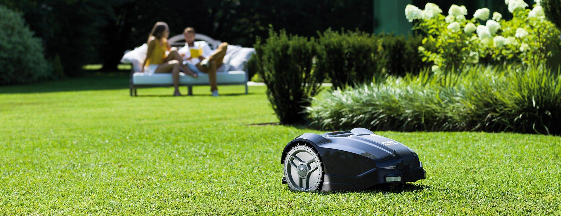 autoclip robot mowers perfect lawn
