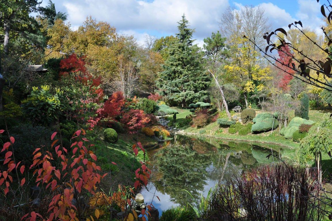 Le jardin zen d'Erik Borja à Beaumont-Monteux dans la Drôme