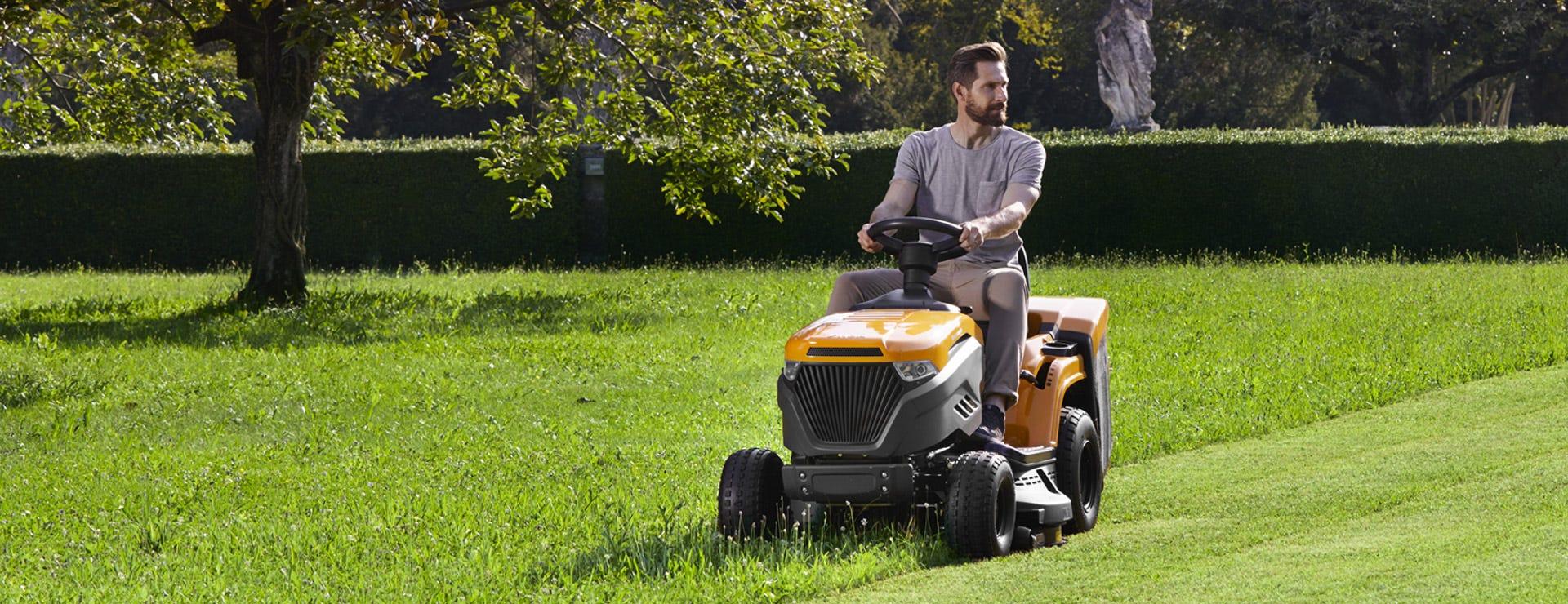 stiga estate lawn tractor 3398 hw