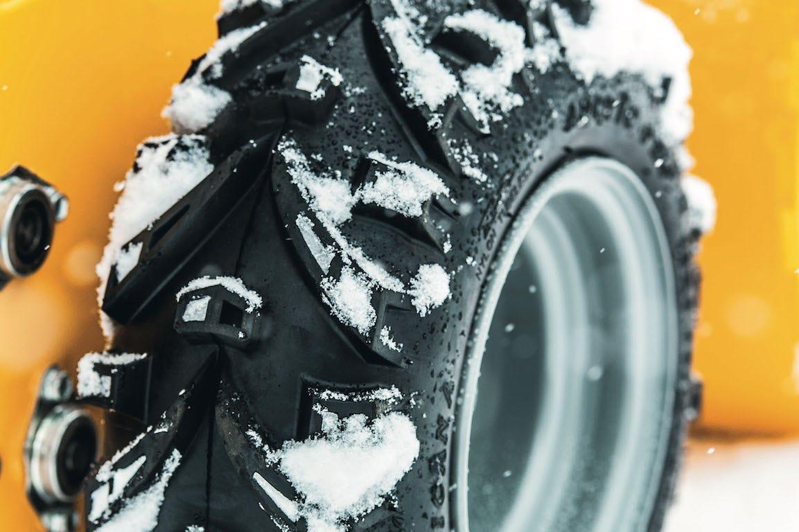 roue de fraise à neige