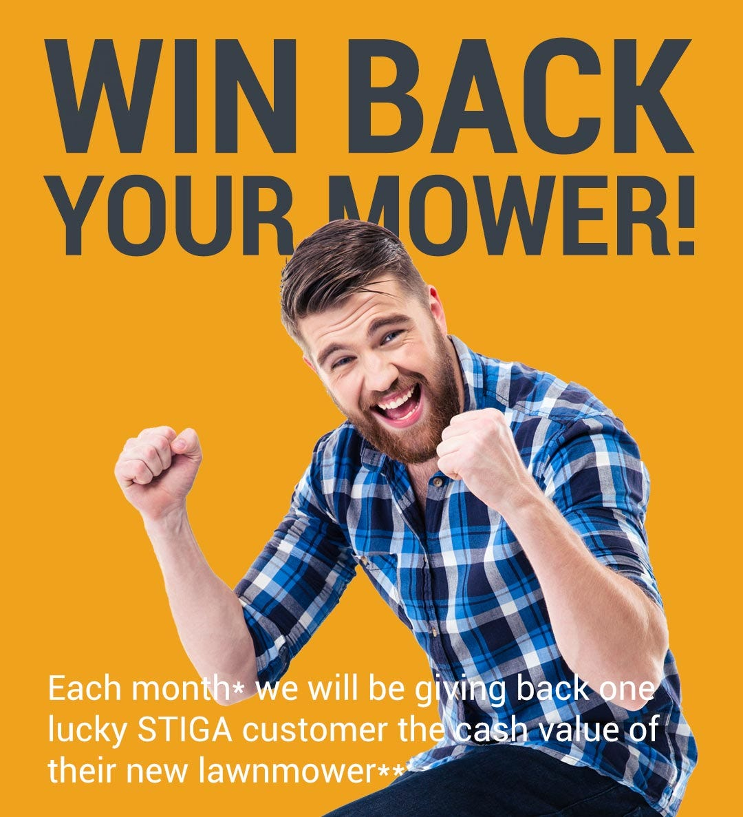 Win back your mower!