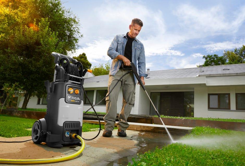STIGA Høytrykkspyler til utendørs vårrengjøring