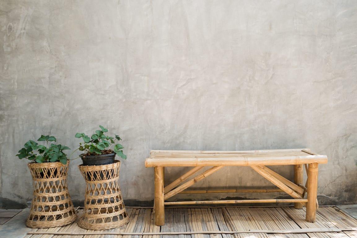 matériaux naturels bambou