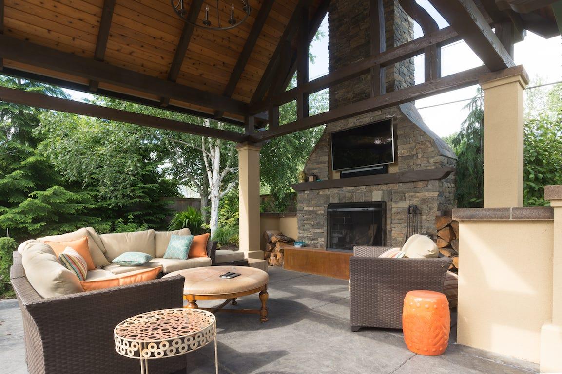 mobilier jardin d'extérieur similaire salon