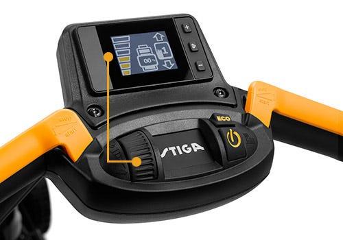 STIGA Model 1: the ultimate battery lawn mower