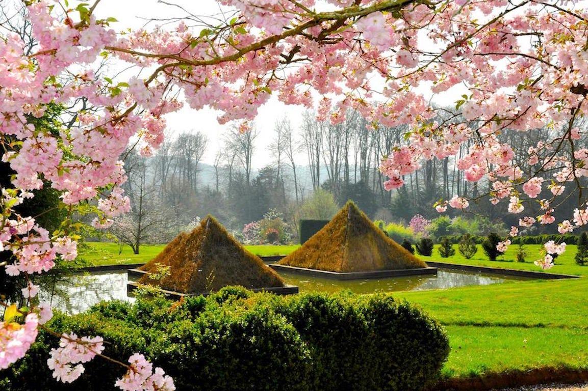 Jardin japonais du parc botanique d'Haute Bretagne