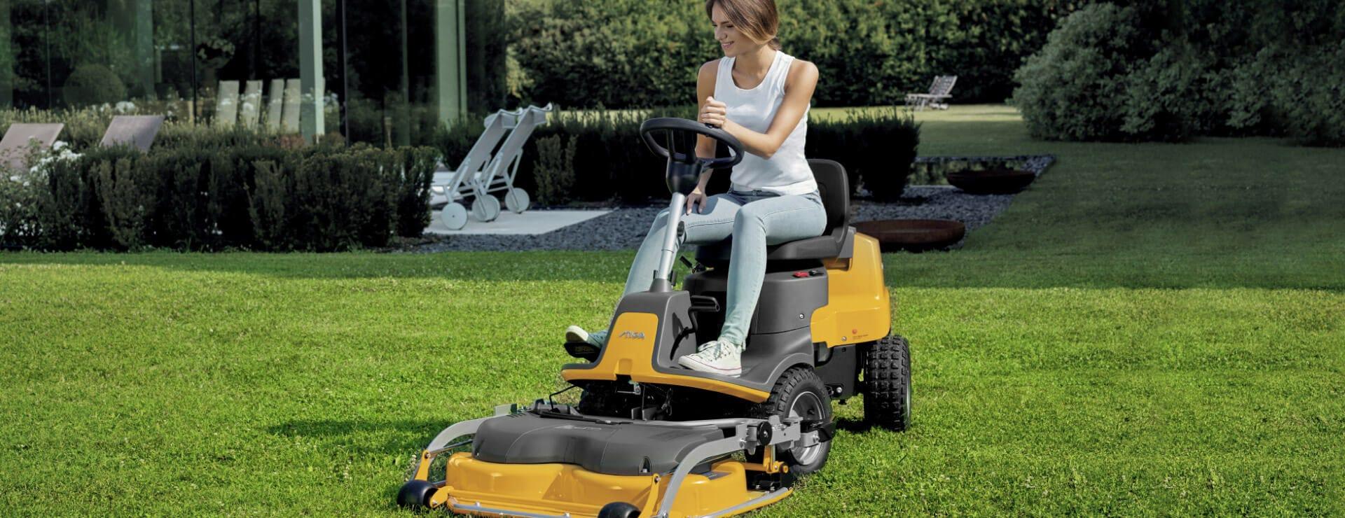 stiga park 220 front mower