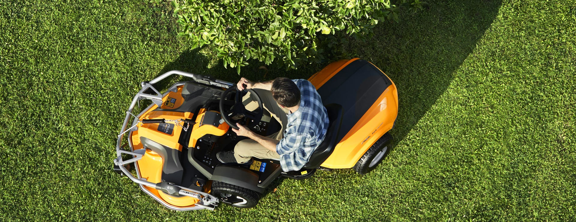 STIGA park pro 740 pwx front mower