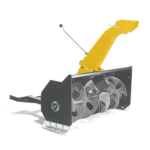 STIGA snow thrower attachment