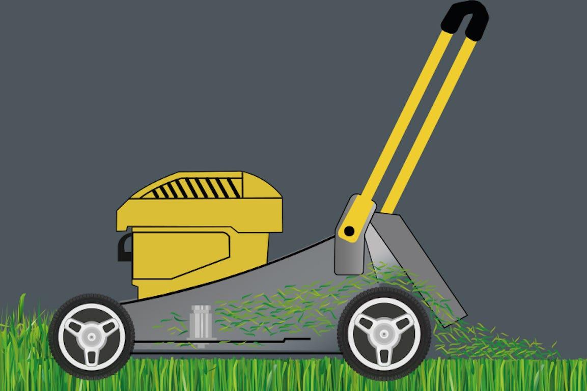 tondeuse STIGA mulching pelouse verte