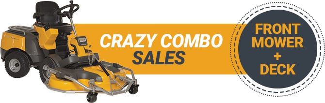 STIGA front mowers and cutting decks promotion