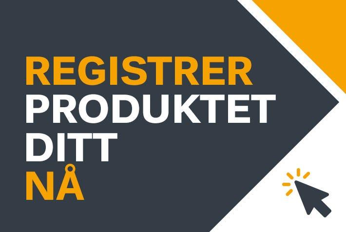 Registrer STIGA-produktene dine