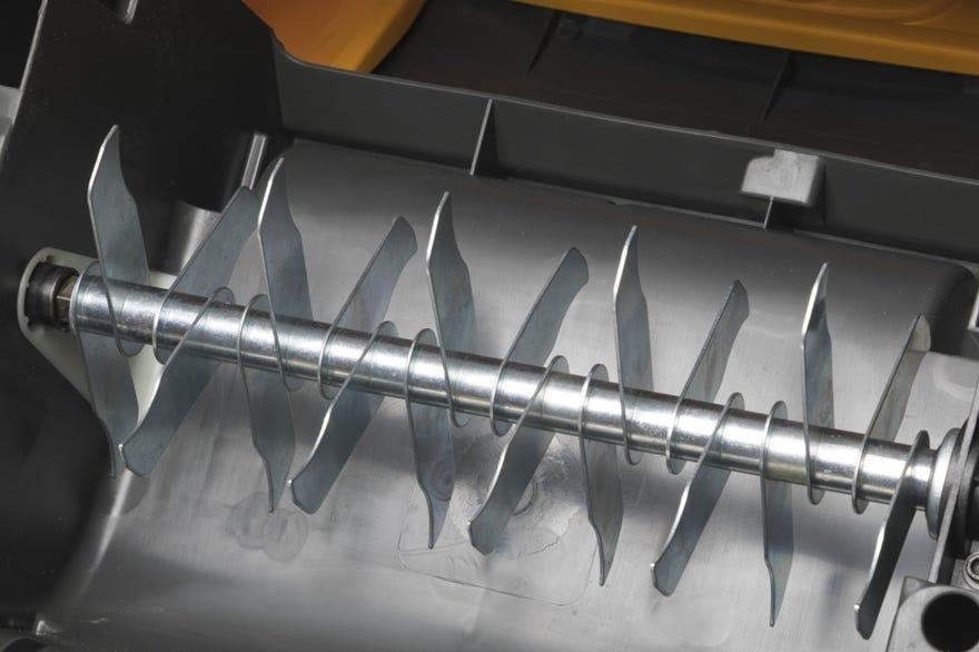 stiga verticuteermachine detail messen gazon beluchter