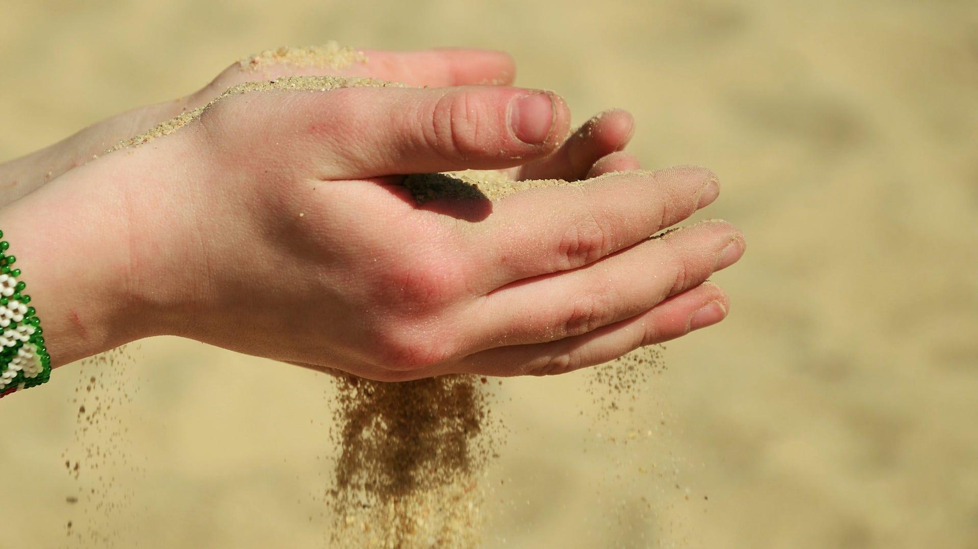 Jorden bør indeholde sand, så den bliver mere porøs