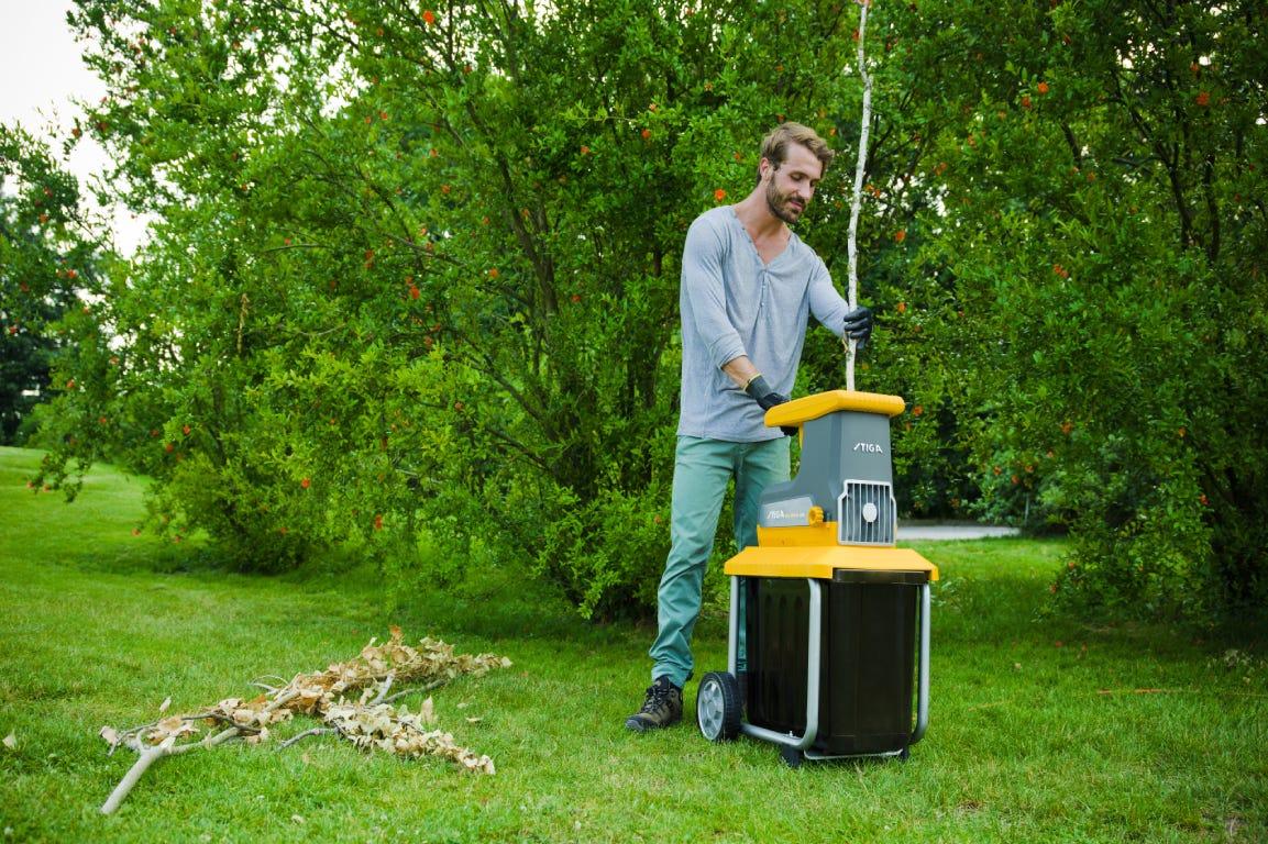 STIGA Bio Silent 2500 electric Shredder for garden waste