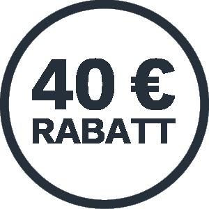 Erhalte einen 40,- € Rabatt auf ein STIGA 500er Akku-Handgerät bei deinem STIGA Händler.