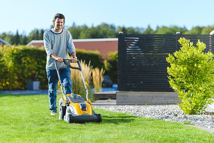 STIGA battery lawnmower
