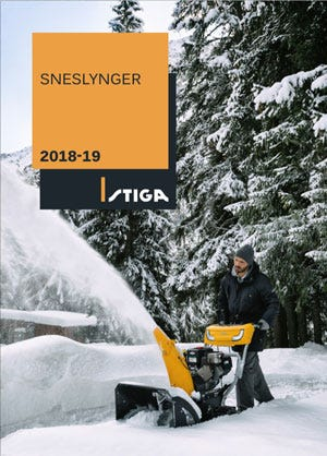 STIGA sneslynger 2018-19