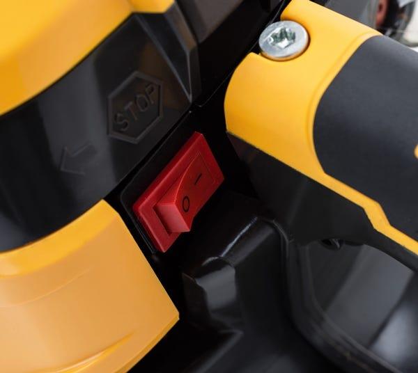 spr 526 benzine kettingzaag stiga veiligheid schakelaar