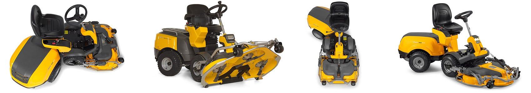 STIGA Frontmäher sind leistungsstarke Maschinen, die speziell für den Mulchschnitt entwickelt wurden