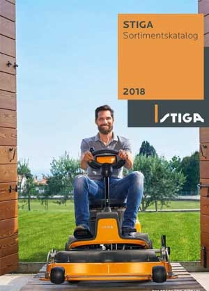 STIGA Rangekatalog 2018