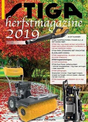 STIGA Najaarsmagazine 2019