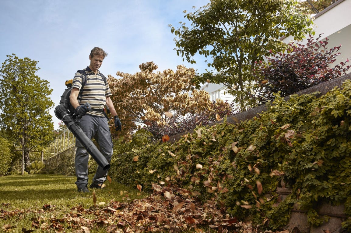 stiga bladblazer blad ruimen bladeren herfst gebladerte verwijderen