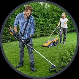 STIGA Decespugliatori - perfetto per gestire erba alta e i bordi