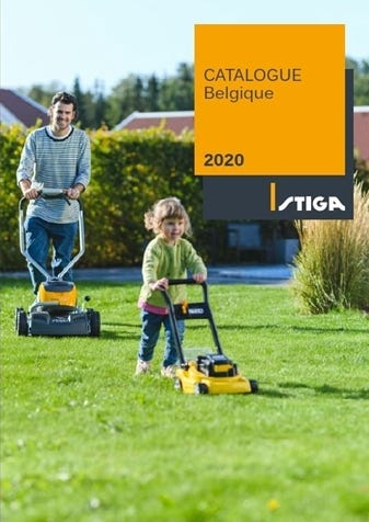 STIGA Catalogue Général Belgique 2020