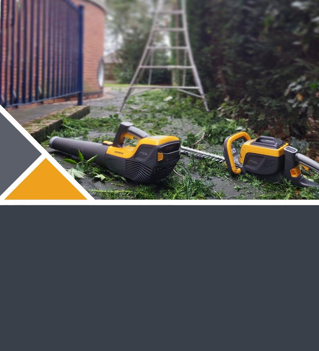 STIGA tools for garden care