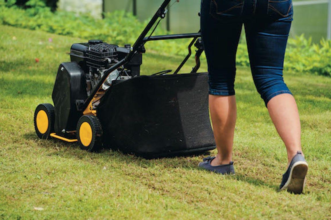 tonte de pelouse utilisation de scarificateur