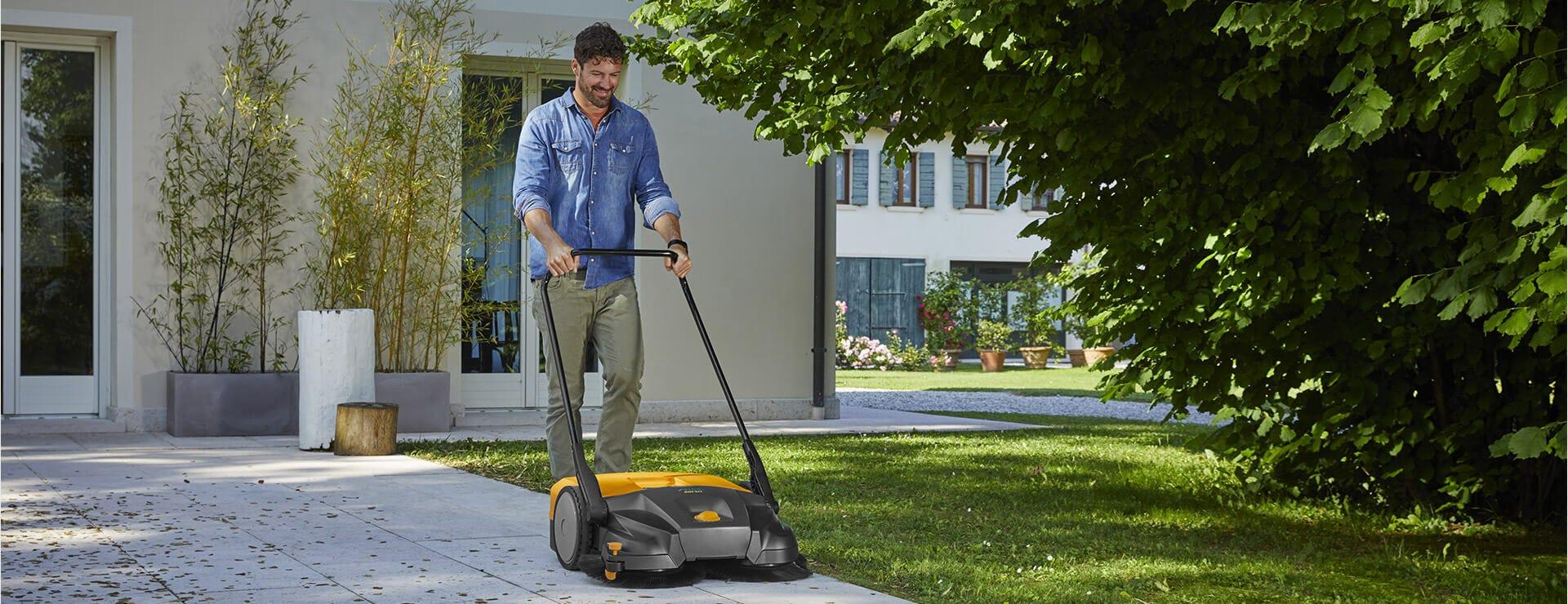 STIGA sweeper push SWP 577