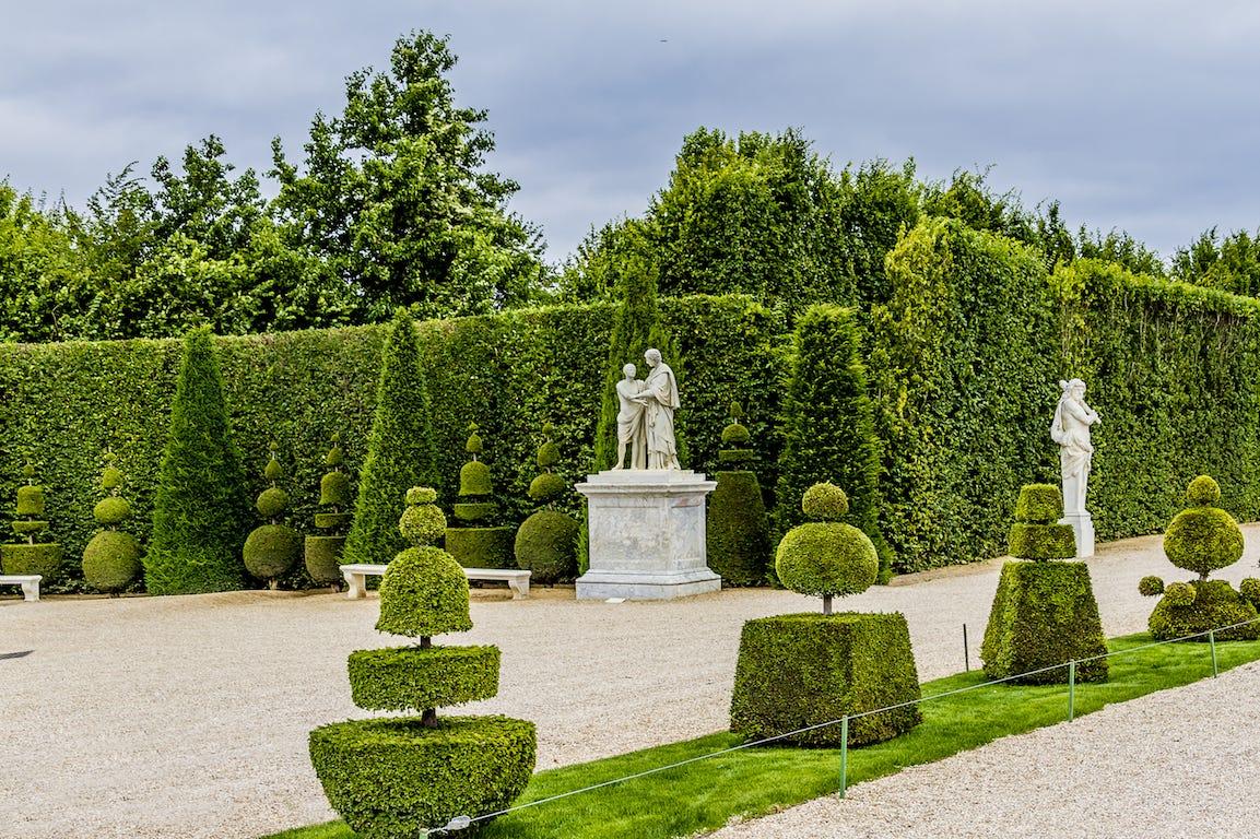 jardin à la française topiaires statuts