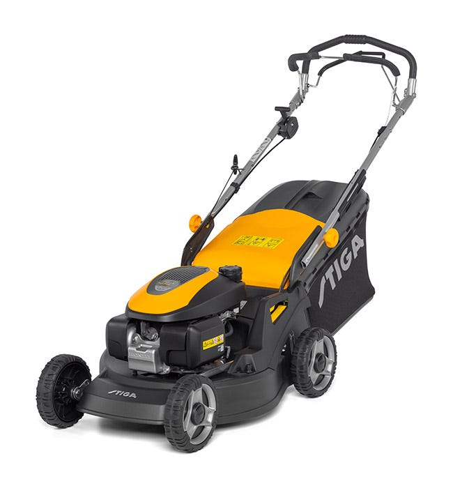 The most powerful lawn mower in the STIGA range is the Turbo Power