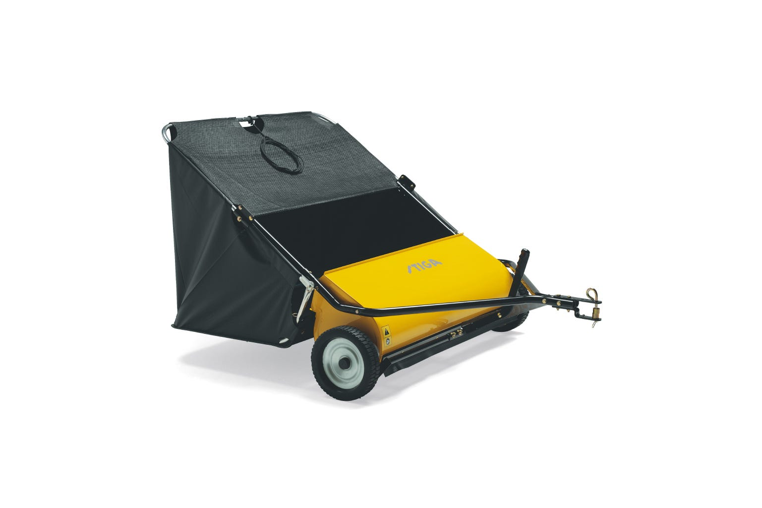 STIGA grass & leaf collector accessory for STIGA front mowers is a perfect partner during spring and autumn