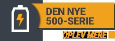 STIGA: DEN NYE STIGA 500-SERIE