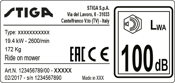 Manufacturing plate